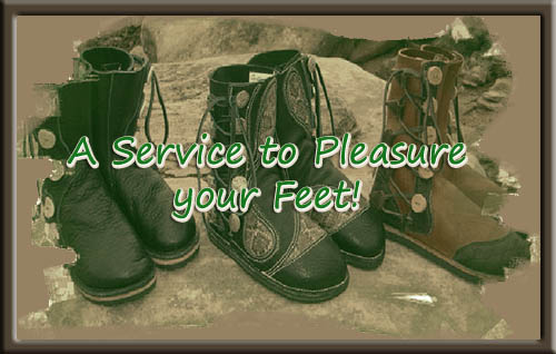 A Service to pleasure your feet!